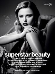 Хлоя Морец для Glamour, сентябрь 2013