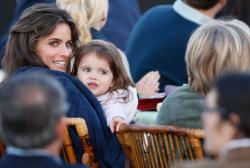 Аманда Пит с дочерьми