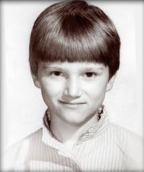 Егор Баринов в детстве