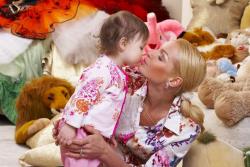 Анастасия Волочкова и ее дочь Ариша