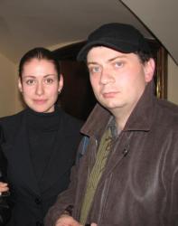 Анна Ковальчук и ее муж Олег Капустин