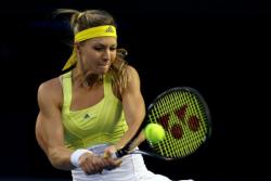 Мария Кириленко на теннисном корте