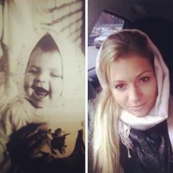 Мария Кириленко в детстве