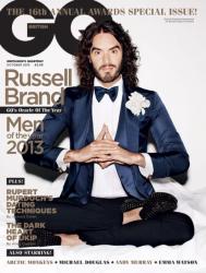 Рассел Брэнд на обложках журналов