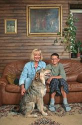 Барбара Брыльска - домашняя фотосессия