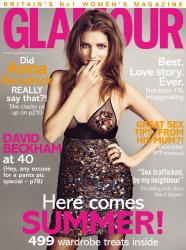 Анна Кендрик для Glamour UK, май 2015