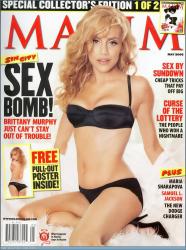 Бриттани Мерфи для журнала Maxim