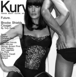 Брук Шилдс для журнала Kurv