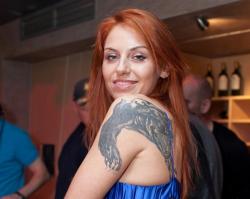 Татуировка Ирины Забияки