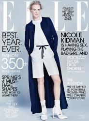 Николь Кидман для Elle US, январь 2015