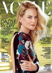 Николь Кидман в фотосессии Питера Линдберга для Vogue Magazine, август 2015 года
