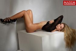 Вера Брежнева для Maxim, январь 2014