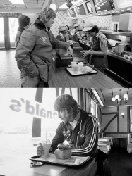 Уэйн Гретцки в McDonald's, 1978 год