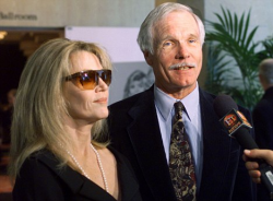 Джейн Фонда с мужем