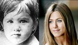 Дженнифер Энистон в детстве