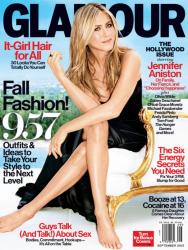Дженнифер Энистон для Glamour US, сентябрь 2013