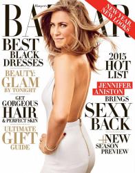 Дженнифер Энистон для Harper's Bazaar US, декабрь 2014 / январь 2015