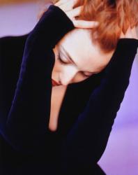 Джиллиан Андерсон в 1998 году (фотосессия Альберто Толота для журнала Movieline)