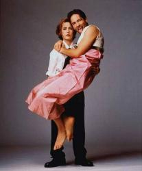 Джиллиан Андерсон и Дэвид Духовны, 1997 год