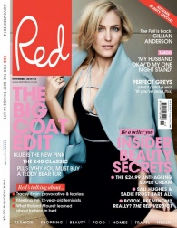 Джиллиан Андерсон для журнала Red, ноябрь 2014