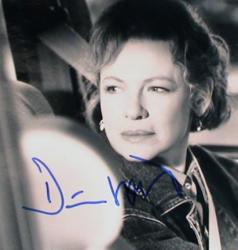 Автограф Дайэнн Уист
