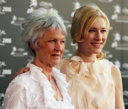 Кейт Бланшет с мамой