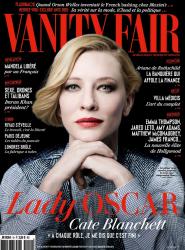Кейт Бланшетт в фотосессии Брижит Лакомб для Vanity Fair France, апрель 2014