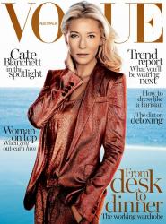 Кейт Бланшетт для Vogue Australia, февраль 2014