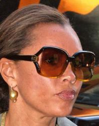 Ванесса Уильямс  и ее солнцезащитные очки