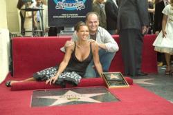 Звезда Ванессы Уильямс на Аллее славы в Голливуде