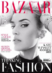 Кейт Уинслет для Harper's Bazaar UK