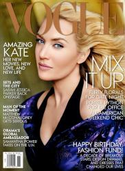 Кейт Уинслет для VOGUE US, ноябрь 2013
