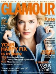 Кейт Уинслет для Glamour UK, февраль 2014