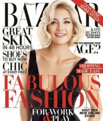 Кейт Хадсон для Harpers Bazaar