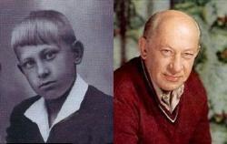 Евгений Евстигнеев в детстве