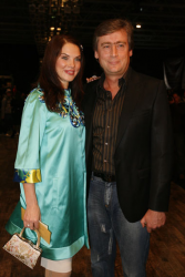 Влада Литовченко с мужем