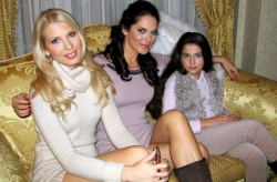 Влада Литовченко с детьми
