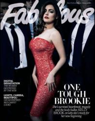 Келли Брук на обложках журналов