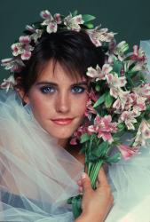 Кортни Кокс в фотосессии Дианы Линн (1985)