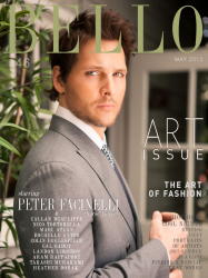 Питер Фачинелли для майского Bello Magazine (2013)