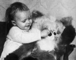 Ольга Ломоносова в детстве и молодости