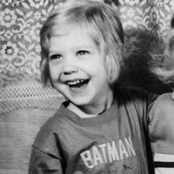 Кристина Асмус в детстве