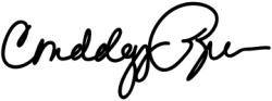 Автограф Кондолизы Райс