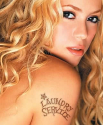 Татуировка Шакиры
