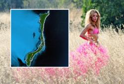 Шакира владелица острова
