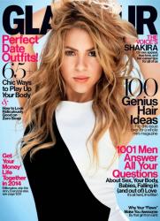 Шакира для Glamour US, февраль 2014