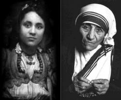 Мать Тереза Калькуттская в молодости