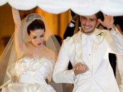Свадьба Алешандре Пато и Стефани Бриту