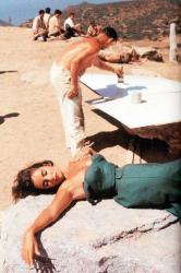 """Элизабет Тейлор на съемках фильма """"Внезапно, прошлым летом"""", 1959 год"""