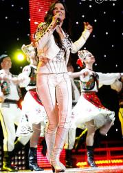 Руслана Лыжичко на сцене